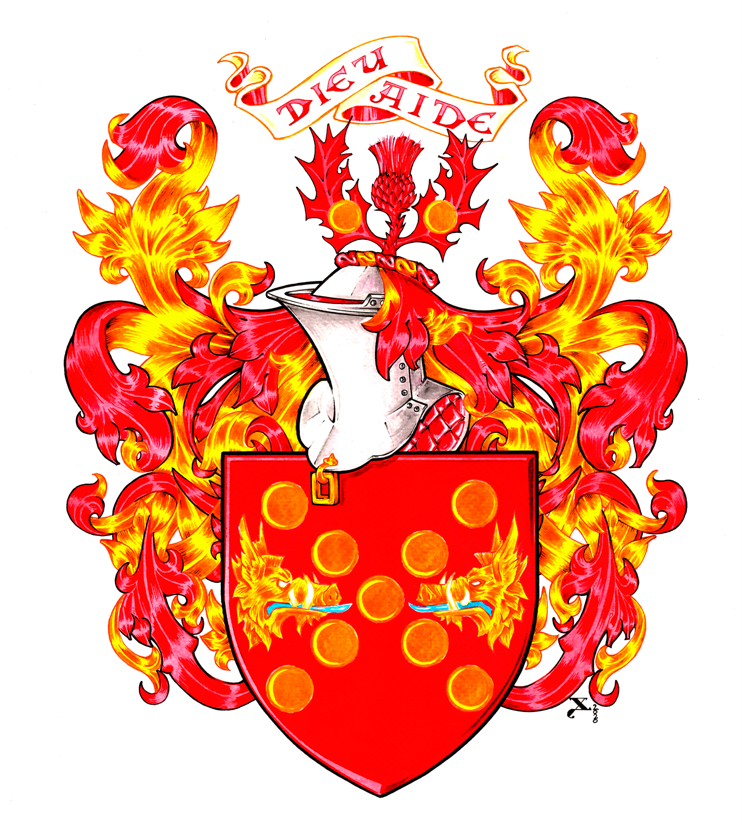 Marc_Baronnet coat of arms